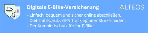Alteos E-Bike-Versicherung